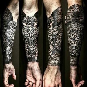 Hình xăm nặng đô nhất mọi thời đại - Tattoo blackwork